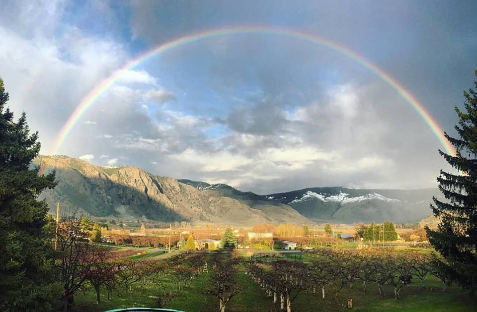 Rainbow over Keremeos